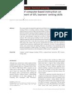 CALL for EFL Writing