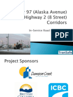 6. TranSafe - Hwy 97 Hwy 2 Road Safety Audit - Jun 27 2016 Council Presentation