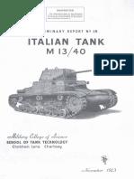 Italian Tank M 13-40
