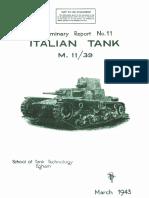 Italian Tank M 11-39