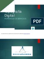 2016.06.30 Topografía Digital - Portafolio de Servicios