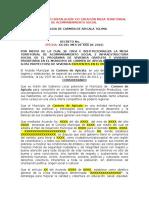 Formato Decreto Creacion Mesa Carmen Territorial