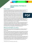 Personalisation Seminar Briefing Paper