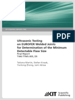 Ultrasonic Testing Eurofel