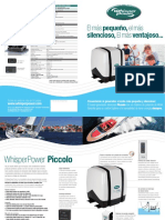Piccolo Salesflyer Spanish