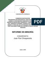 Informe Final de la Comisión Lava Jato