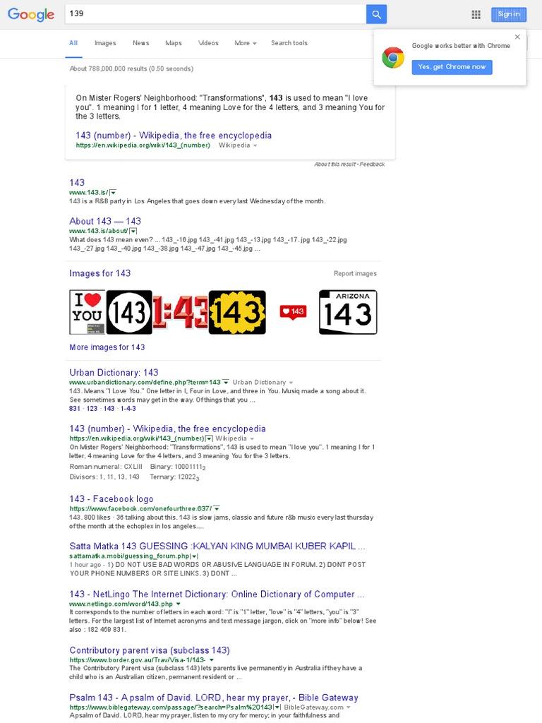 143 - Google Search