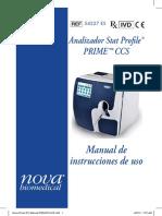 Nova Prime IFU Manual PN54227A ES