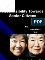 Responsibility Towards Senior Citizens