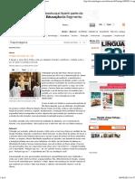 O Latim Dá Sinais de Vida _ Revista Língua Portuguesa