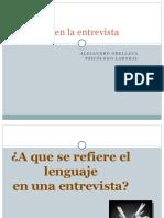 Lenguaje Verbal y Paraverbal