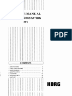 Korg M1 ServiceManual
