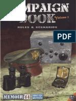 Memoir 44 Campaign Book Vol 1