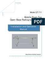 DC30-018_QT-711 Mobile Float-Top Open Base Table I&O Manual_Rev H