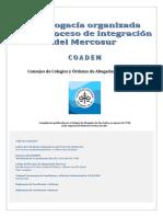 La abogacía organizada en el proceso de integracion del Mercosur