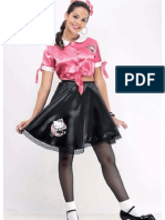 50's Rockabilly Poodle Skirts 01