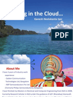 Sailing Cloud Computing Ieee Gold Singapore Ganesh