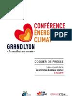 Dossier Presse Conf. Energie Climat