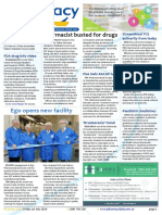 Pharmacy Daily for Fri 01 Jul 2016 - Pharmacist busted for drugs, Ego opens new facility, Streamlined TCS authority from today, Events Calendar and much more