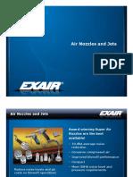 exair - air nozzles and jets presentation
