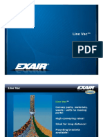 exair - air operated conveyors  line vac  presentation