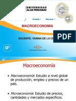 1er Semana Macroeconomia