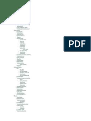 OpenCPN User Manual pdf | Tablet Computer | Windows 8