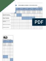 Cronograma de Actividades - Proyeccion de Redes