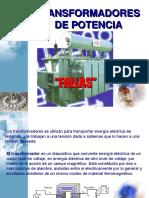 Análisis Transformadores Potencia DEFINITIVO.ppt