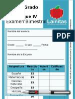 examen 4to-Grado-Bloque-4-2013-2014