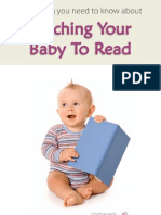 Teaching Baby to Read