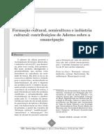 Formação cultural, semicultura e indústria cultural.pdf