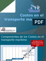Costos en El Transporte Marítimo (1)
