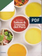 Recetario Salsas &Cremas del Peru