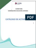 Catalogo de Actividades-Estudiantes