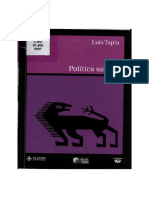 Política Salvaje Completo (Tapia)