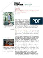 Massage and Bodywork Magazine Highlights Soma