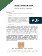 Guía de Laboratorio de Ciencia de Los Materiales - Deformación