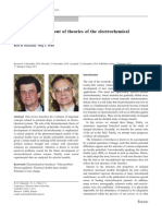Historical Developments of Theories Onf the Electrocemivcal Double Layer