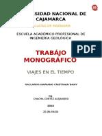 Monografia Viajes en El Tiempo
