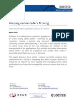 Keeping online orders flowing 2