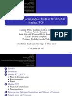 Procolo de Comunicação Modbus Rtu.ascii e Modbus Tcp - g2