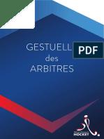 Fascicule pour la Fédération Française de Hockey sur gazon (FFH) (2016)