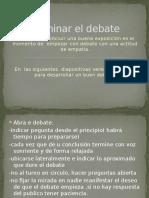 Dominar El Debate