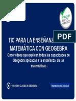 Geogebra Para Enseñar Matematicas