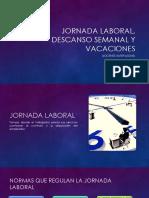 Jornada Laboral, Descanso Semanal y Vacaciones