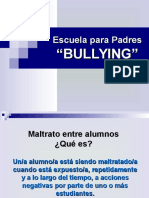 Escuela Para Padres Bullying