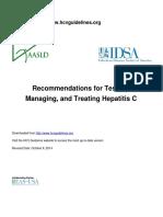American HCV Guideline