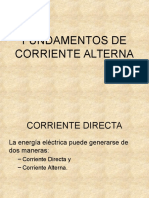 1 Fundamentos de Corriente Alterna Clase