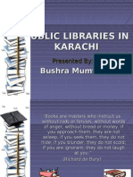 Public Libraries in Karachi